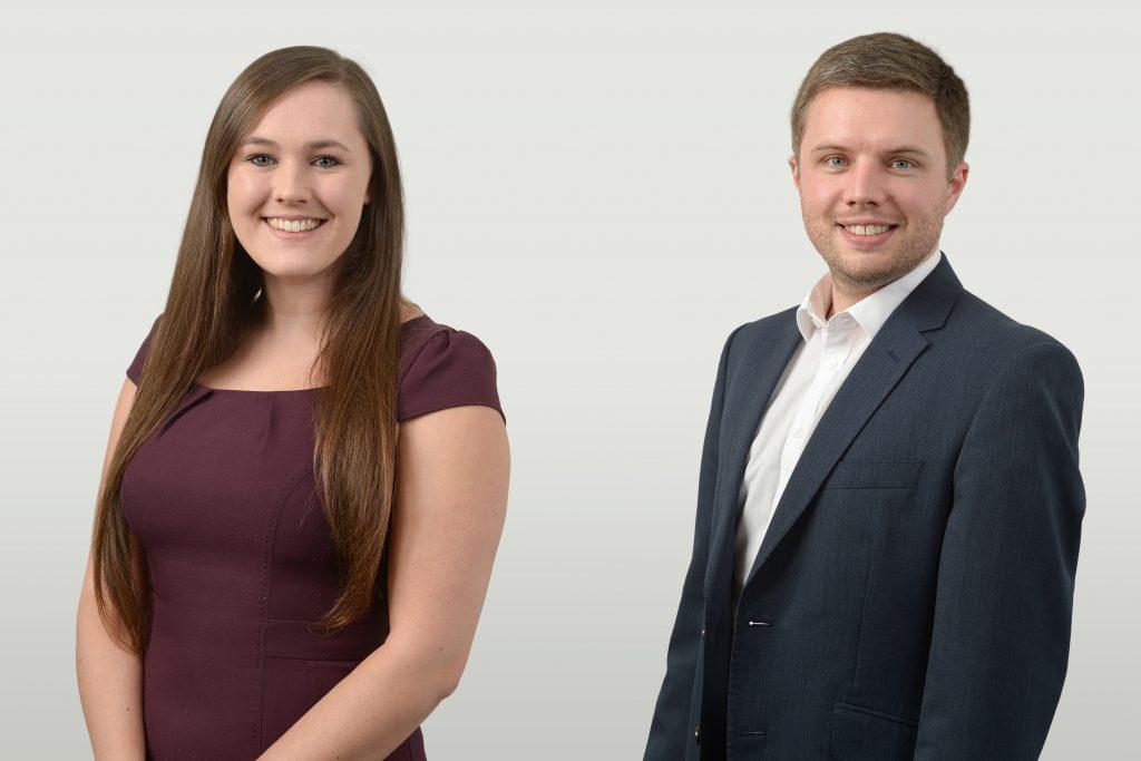 Rebecca Smith and Rob Parker