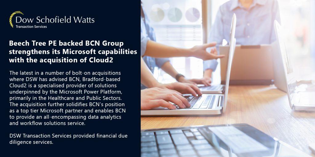 BCN Group acquires Cloud2