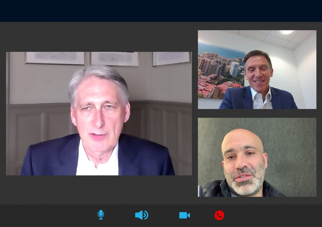 DSW Webinar with Philip Hammond Former Chancellor and Ben Barbanel